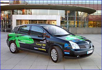 Un prototype essence downsizing suralimenté reposant sur une Renault Velsatis