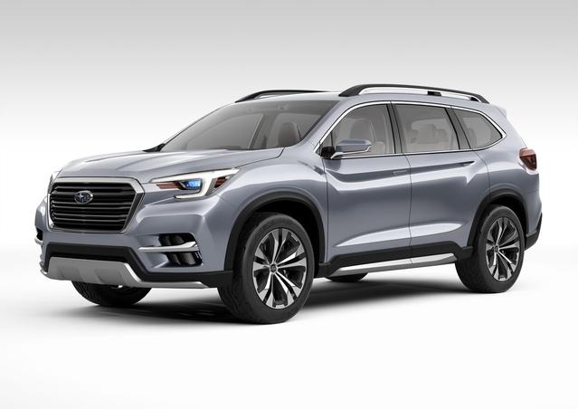 Salon de New York 2017 - Subaru Ascent Concept: on se rapproche de la série