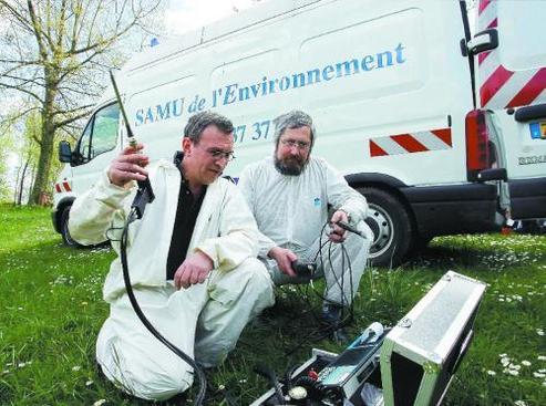Pollution : le SAMU de l'Environnement Alsace veille au grain !