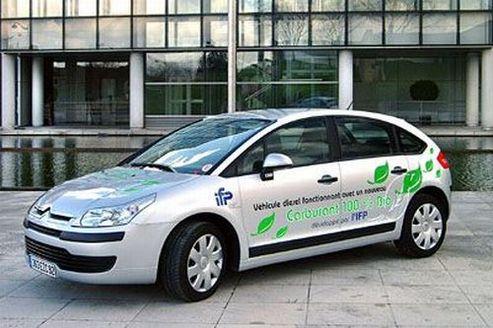 Un véhicule démonstrateur biodiesel/bioéthanol basé sur la Citroën C4 Diesel