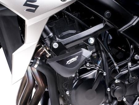 Puig habille la Suzuki GSR 750.