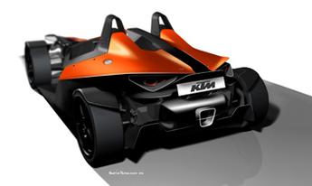 KTM X-Bow en vrai