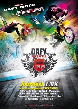 Dafy vous fait lever les yeux : Freestyle tour 2010.