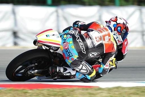 """Moto 3 - République Tchèque : Un  second tour un peu """"chaud"""" et Louis Rossi finit hors des points"""