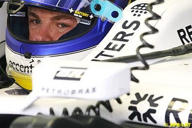 Formule 1 - Bahreïn D.2: Rosberg terrasse Massa