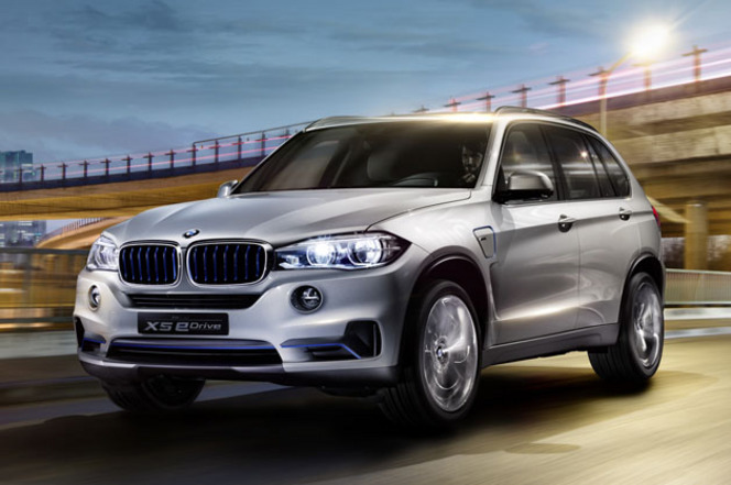 Rapid'news - Le BMW X5 e-Drive arrive...