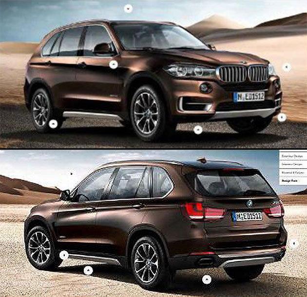 Est-ce là le nouveau BMW X5 ?