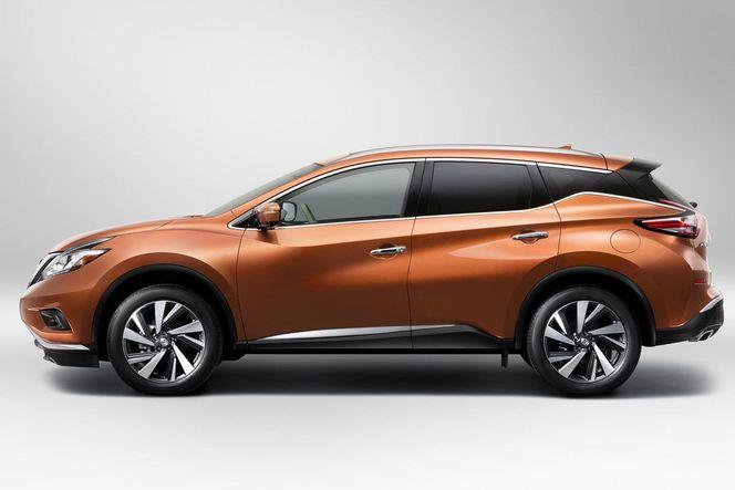 """New-York 2014 - Le Nissan Murano """"2015"""" y sera présenté au public"""