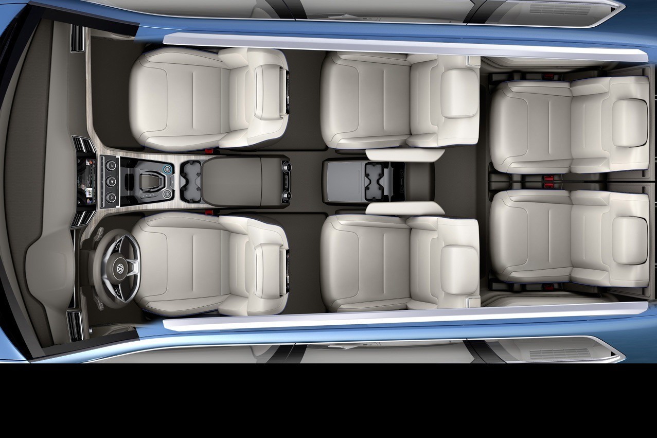 detroit 2013 vw crossblue concept 7 places dans un touareg. Black Bedroom Furniture Sets. Home Design Ideas