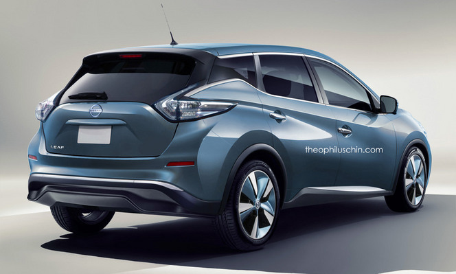 Future Nissan Leaf : comme ça ?