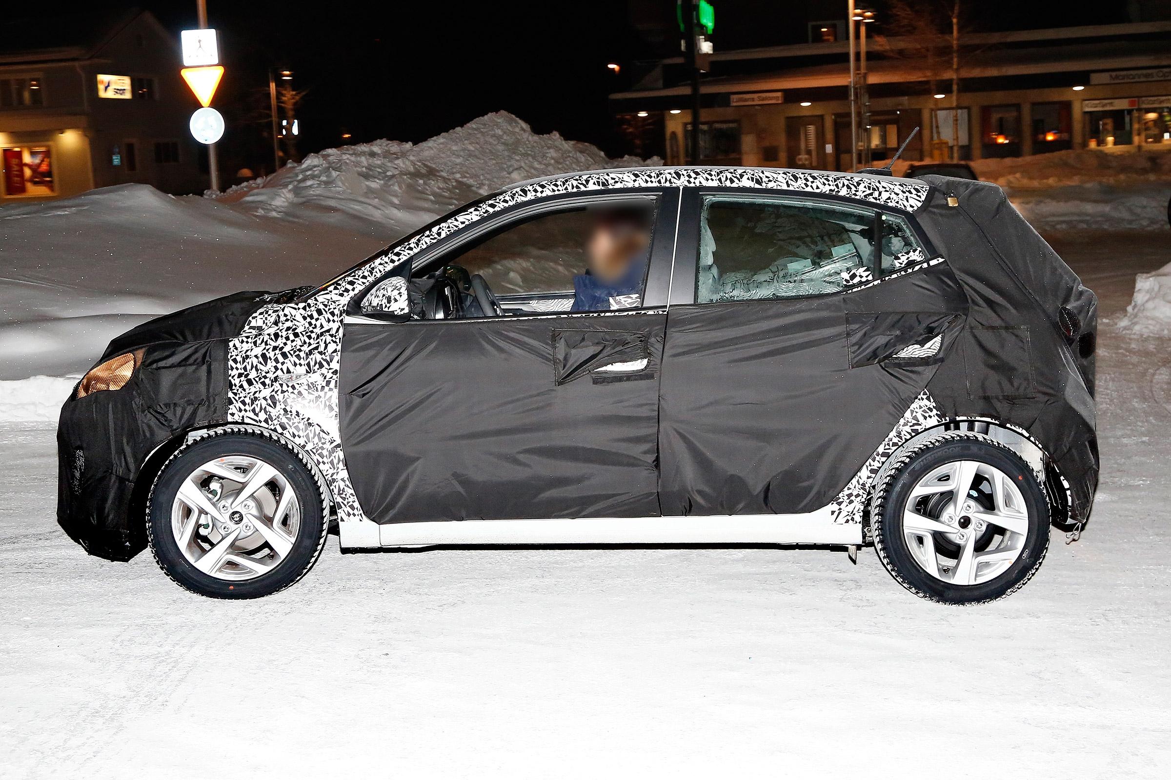 Hyundai Derniers Modèles >> La Nouvelle Hyundai I10 Apercue Sur Les Routes Suedoises