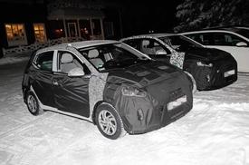 La nouvelle Hyundai i10 aperçue sur les routes suédoises