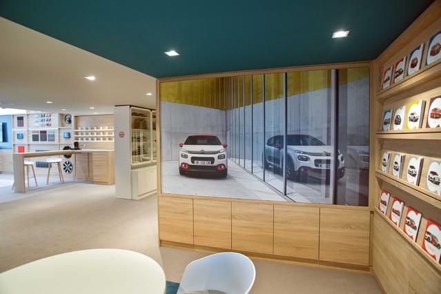 Citroën teste un nouveau type de point de vente en ville