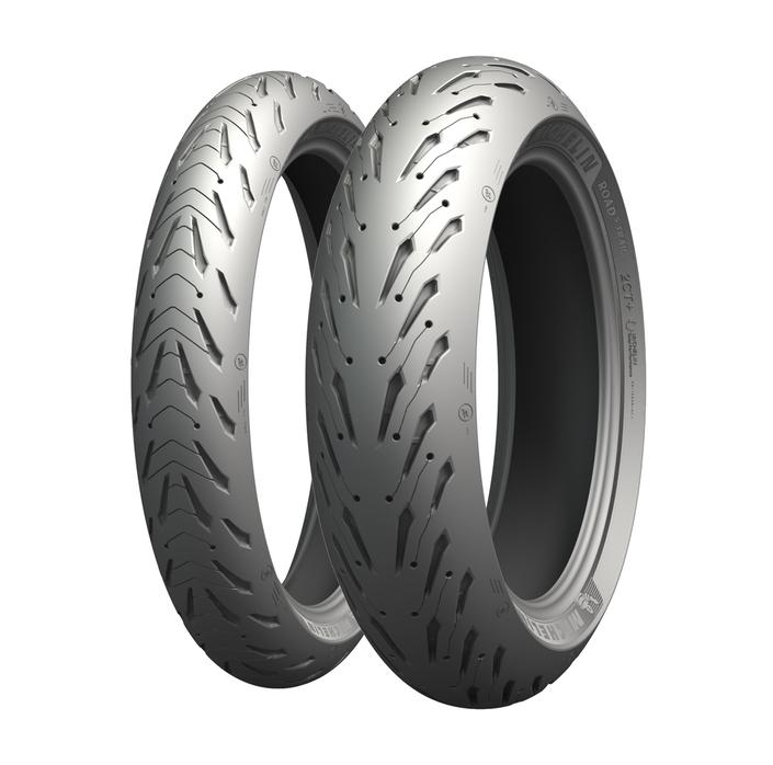 Nouveauté 2018: le Road 5, le nouveau pneu sport touring de Michelin