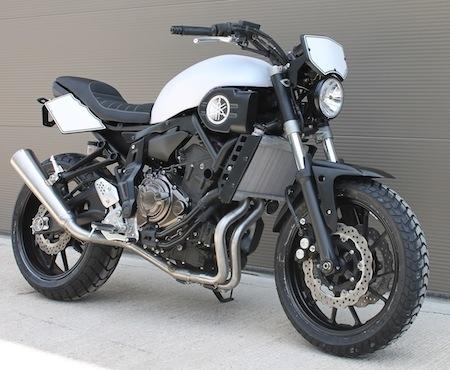 S2 Concept: une Yamaha MT-07 façon MT-70