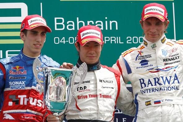 GP2 Asia Bahreïn Course 2 : Kobayashi vainqueur, Grosjean titré