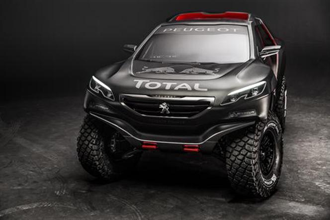 Surprise : le Peugeot 2008 DKR en avance
