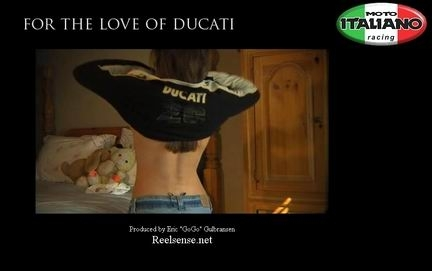 "Court métrage : ""For the love of Ducati"""