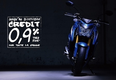 Suzuki: aides à la reprise, taux de financement