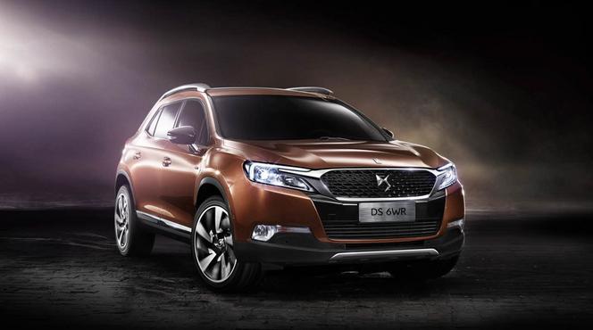 Pékin 2014 - DS 6WR: le premier SUV de DS