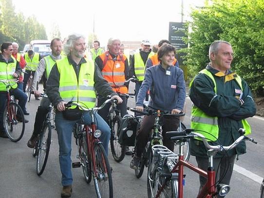 Une campagne vous incitant à vous rendre au boulot à vélo !
