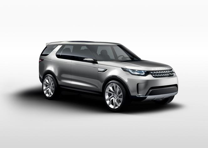 Salon de New York 2014 - 1ere sortie officielle du Land Rover Discovery Vision