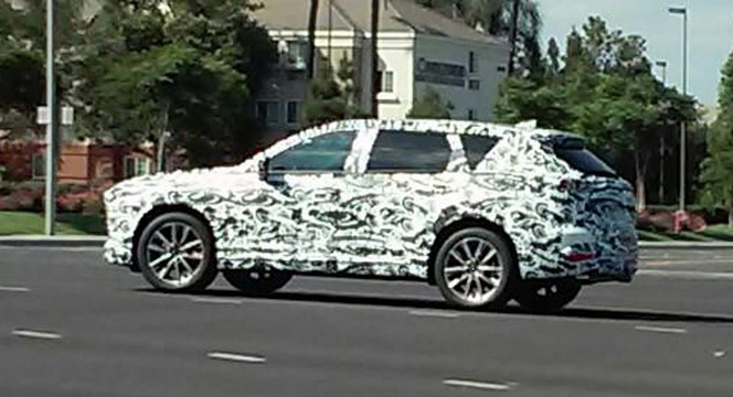 Scoop : le prochain SUV Mazda CX-9 se promène sur les routes américaines