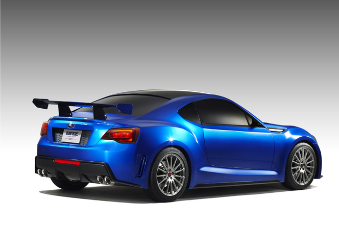Los Angeles 2011 : voici la Subaru BRZ Concept STi (màj + 6 photos)