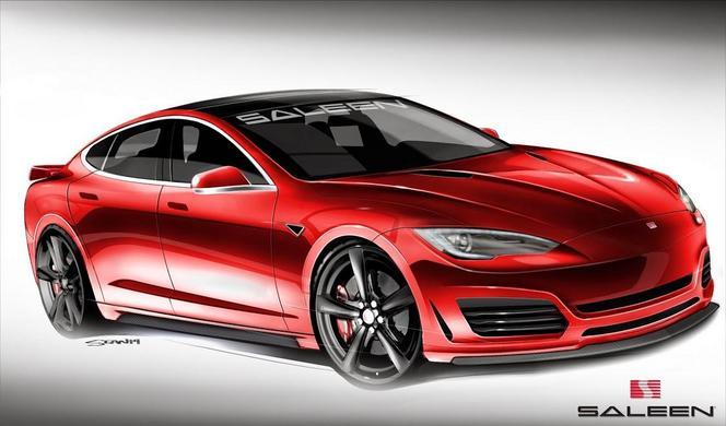 Voici la nouvelle Saleen, basée sur la Tesla Model S