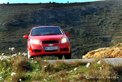 Galerie Photo : Chevrolet Aveo 5 portes
