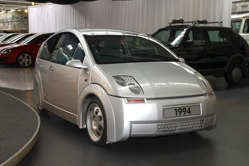 Volkswagen dévoile l'étude CC1 liée à l'Audi A2