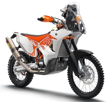 KTM : une Rallye Replica pour s'engager au prochain Dakar