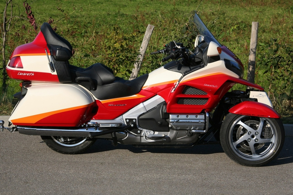 Concept Lazareth : Goldwing façon Mp3