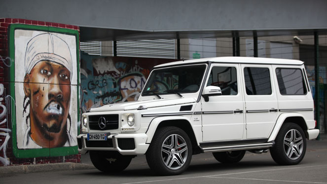 essai mercedes classe g 63 amg massive attack. Black Bedroom Furniture Sets. Home Design Ideas