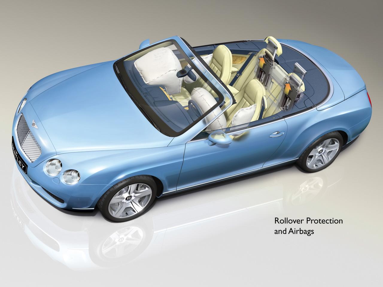 bentley continental gtc cabriolet 4 places et 300km h. Black Bedroom Furniture Sets. Home Design Ideas