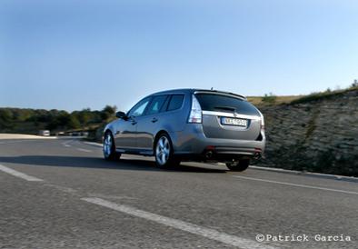 Galerie Photo : Saab 9.3 Aero XWD : le break TGV 2/2