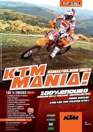 KTM Mania 2014: les infos