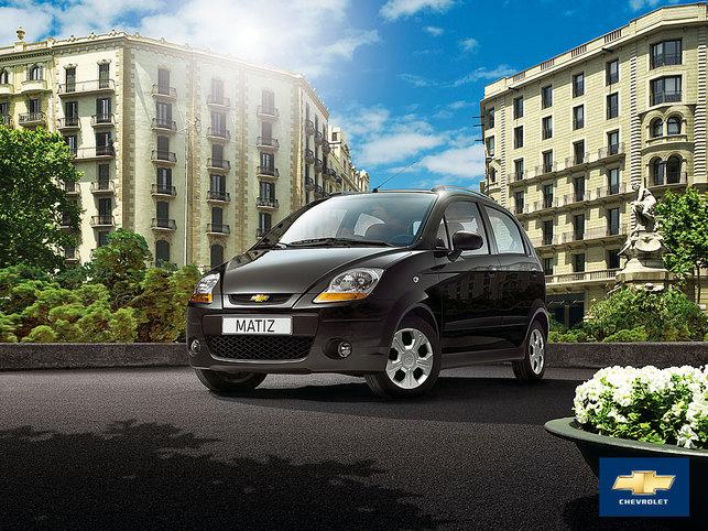 La Chevrolet Matiz E à 6490 euros grâce aux primes écolos !