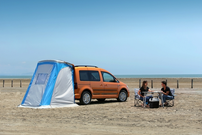 "Volkswagen lance le Caddy ""Beach"""