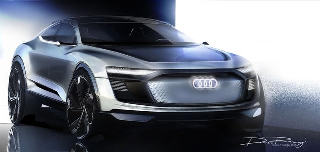 Salon de Shanghai 2017 - Audie-tron Sportback concept : nouveaux teasers