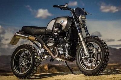 Concept - BMW: Wunderlich fait de la R1200GS LC un scrambler