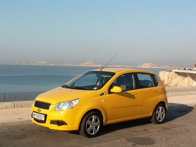 La Chevrolet Aveo au GPL sort en France en septembre 2008