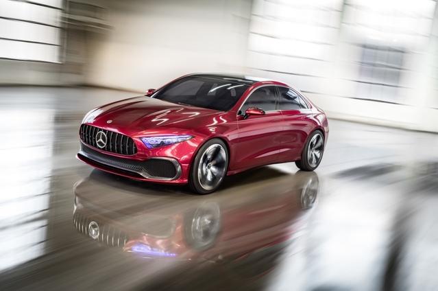 Salon de Shanghai 2017 - Mercedes Classe A Sedan Concept: double annonce