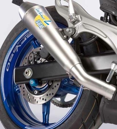 Suzuki: arrivée d'une Gladius version Trophy Replica