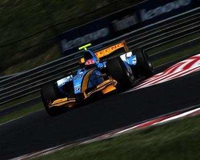 GP2 - Nelson Panciatici: Contraint à la roulette russe en Hongrie