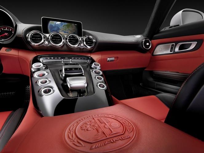Future Mercedes-AMG GT : l'habitacle dévoilé