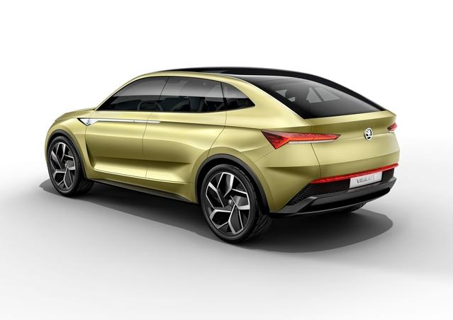 Skoda sera l'un des premiers constructeurs généralistes à s'aventurer sur le segment des SUV coupés.