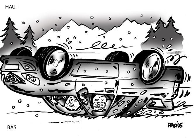 « Mes premières glisses » par Alain Bienvenu
