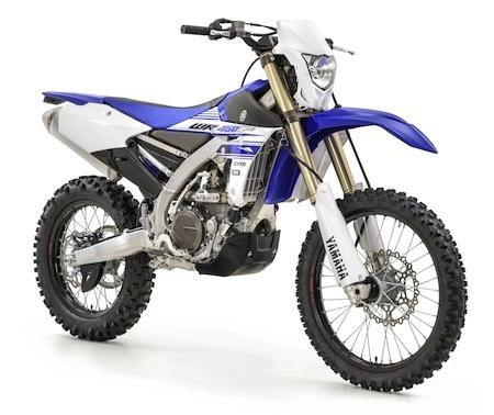 Yamaha WR450F: de vrais changements pour 2016
