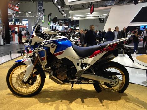 Salon de Milan 2017 en direct : Honda Africa Twin Sports Adventure